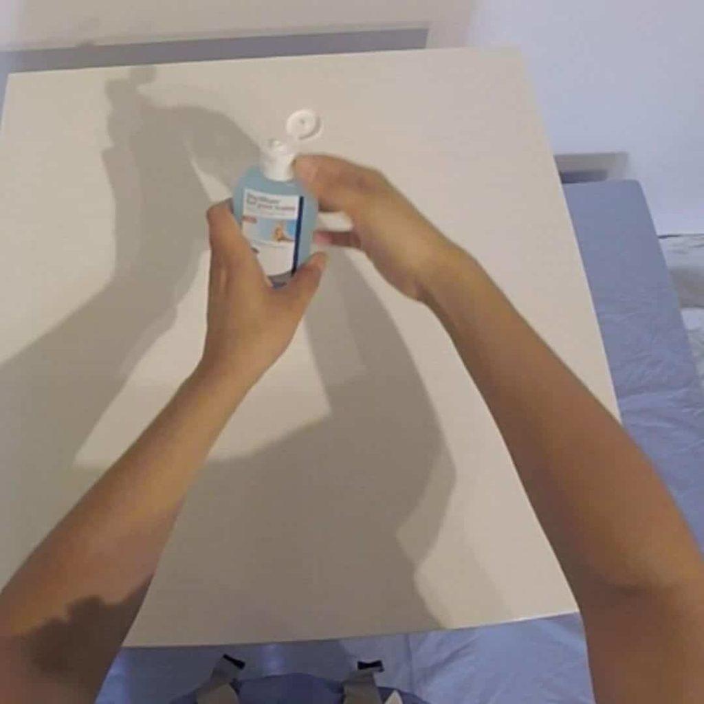 lavage main gel hydroalcoolique