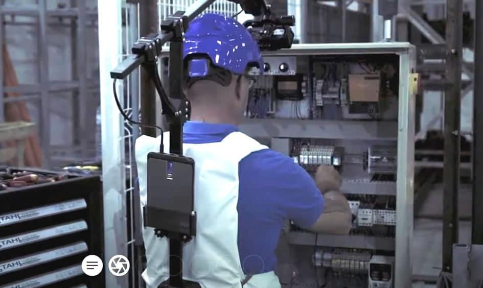 Captation vidéo in situ (industrie)